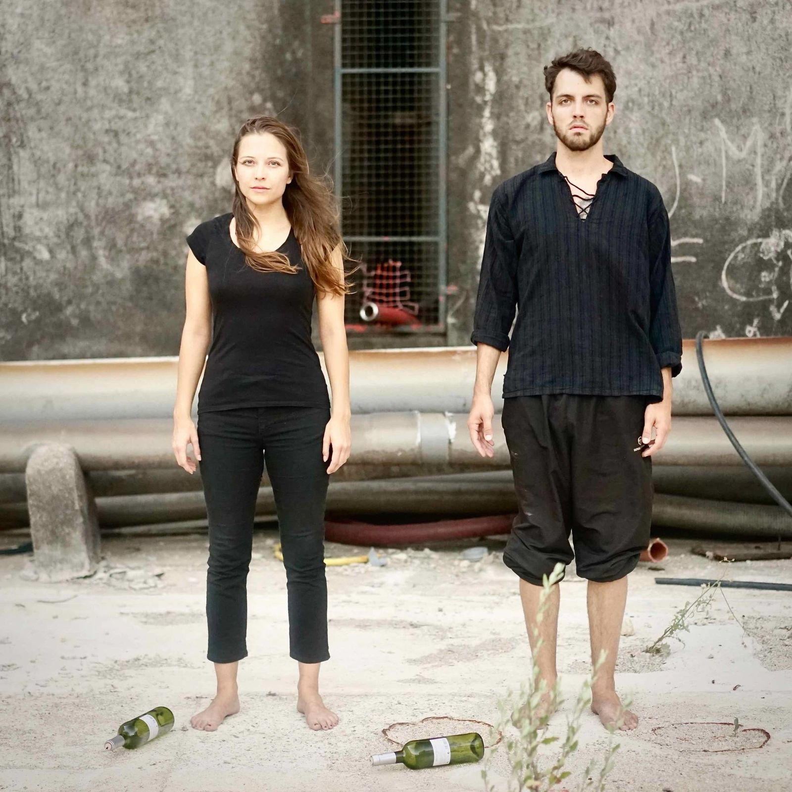 Live Performance by Martina Morger & Wassili Widmer/Photographie Virginie Vabre