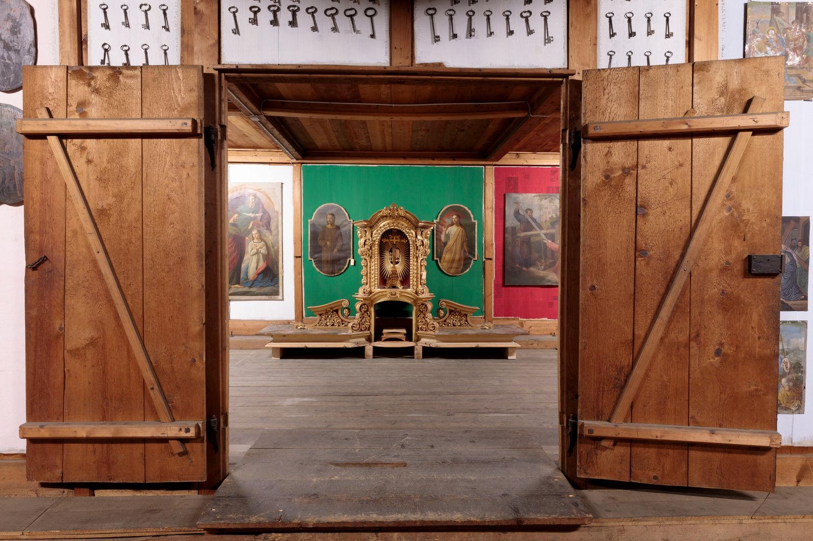 Altaraufsatz, Fotografie: Hannes Thalmann