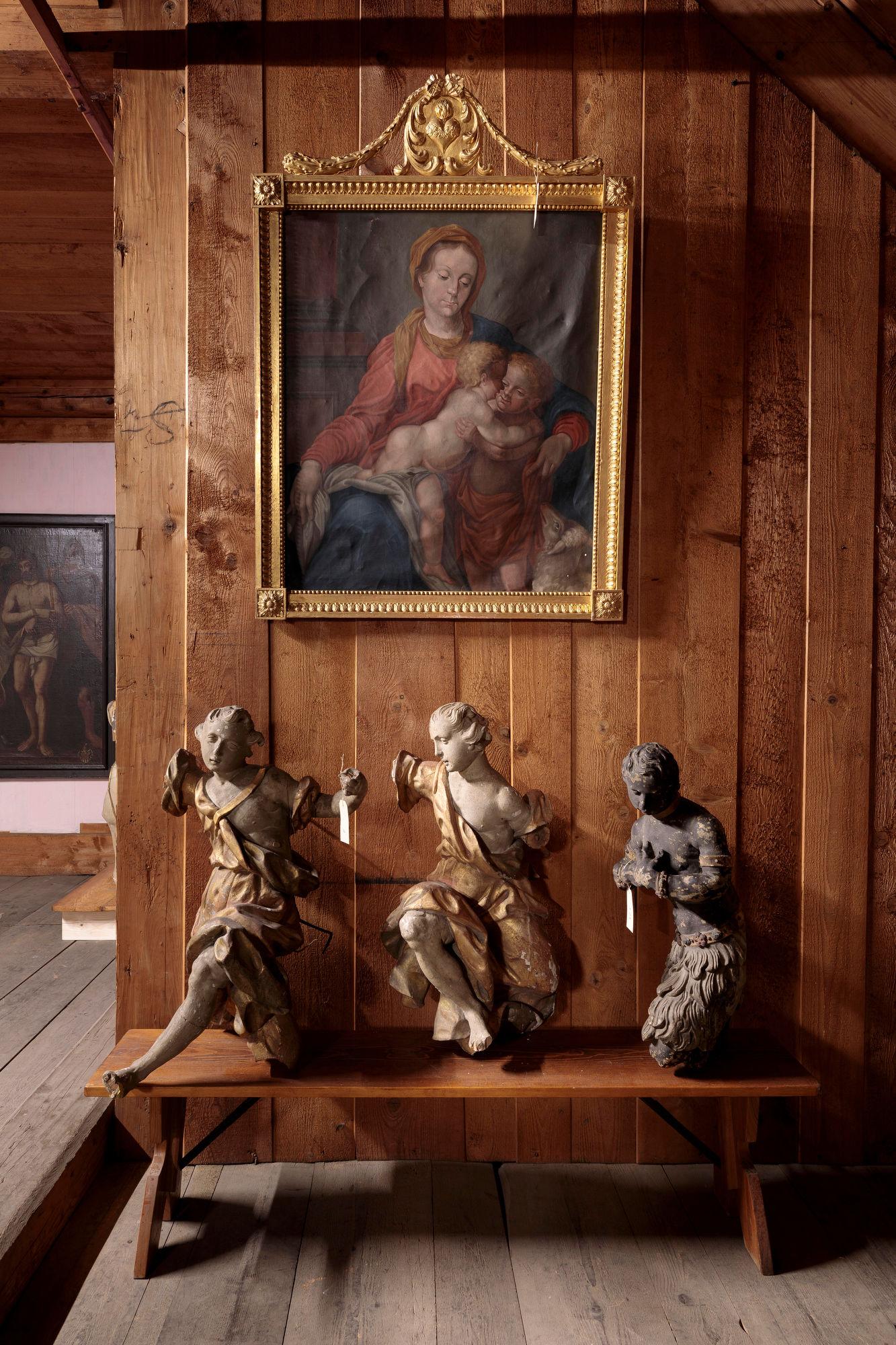 Barocke Figuren, Fotografie: Hannes Thalmann