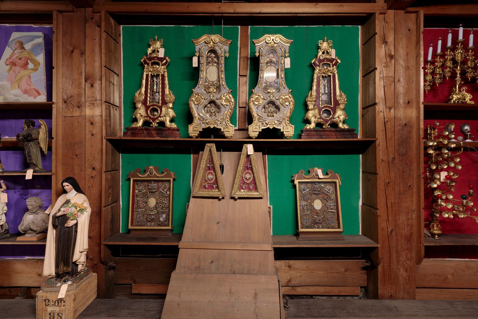 Reliquien, Fotografie: Hannes Thalmann