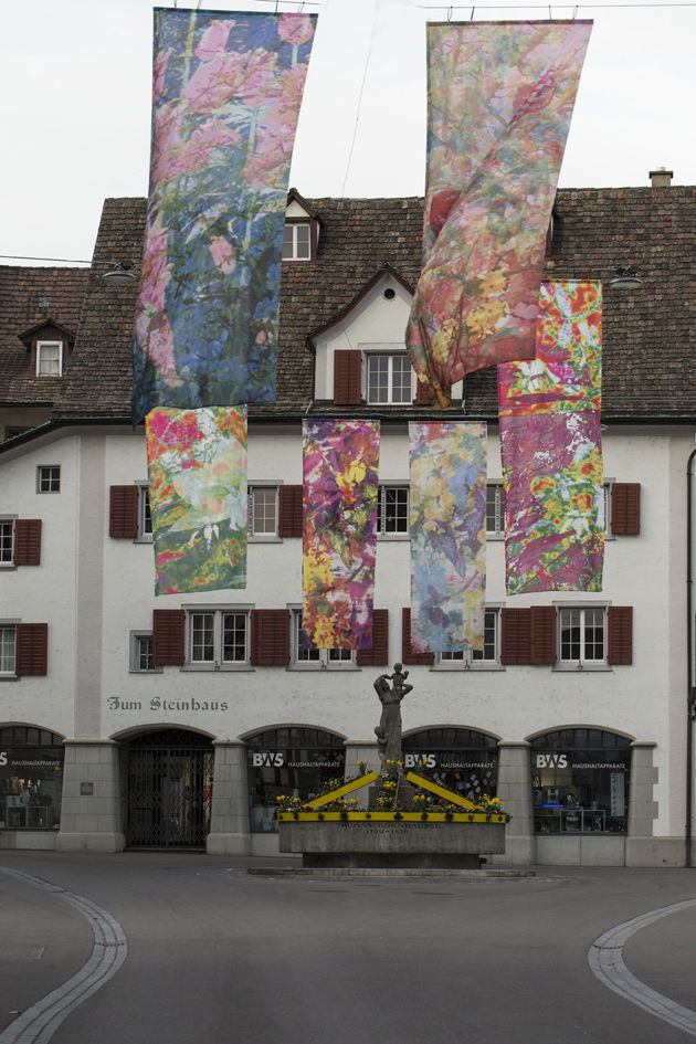 Hängende Gärten, Kunst im öffentlichen Raum, Weinfelden