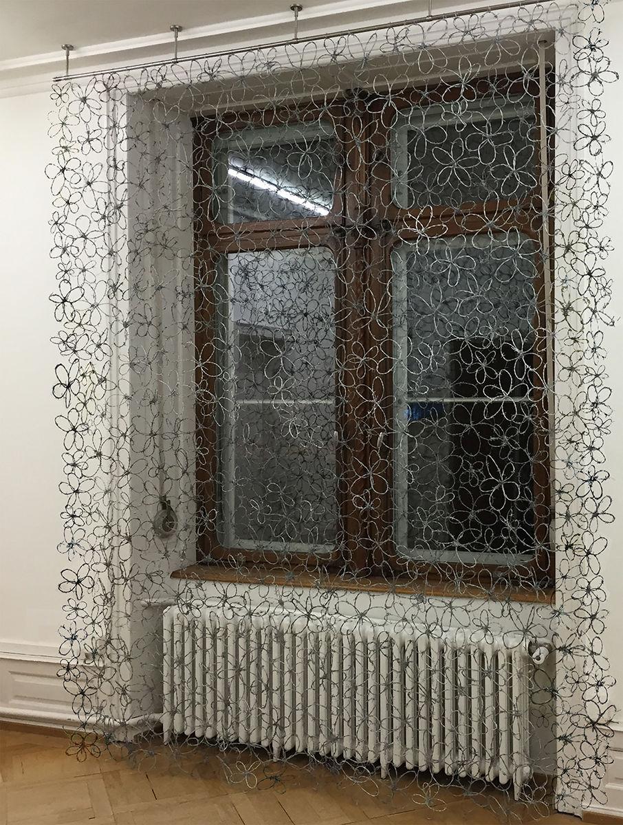 curtain / flowers 16