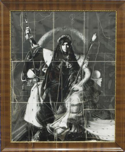 «Schleier und Hüllen», Auf Napoleons Thron, 2012
