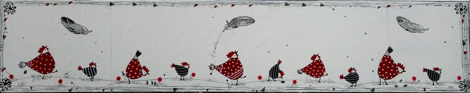 Hühnerparade