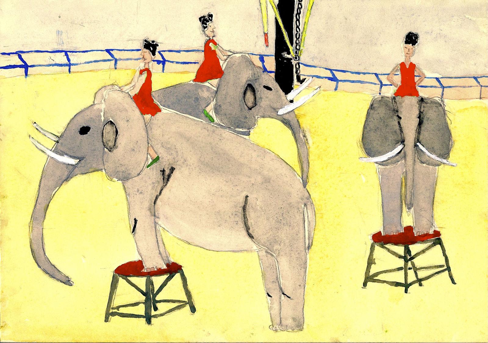 Im Zirkus Knie