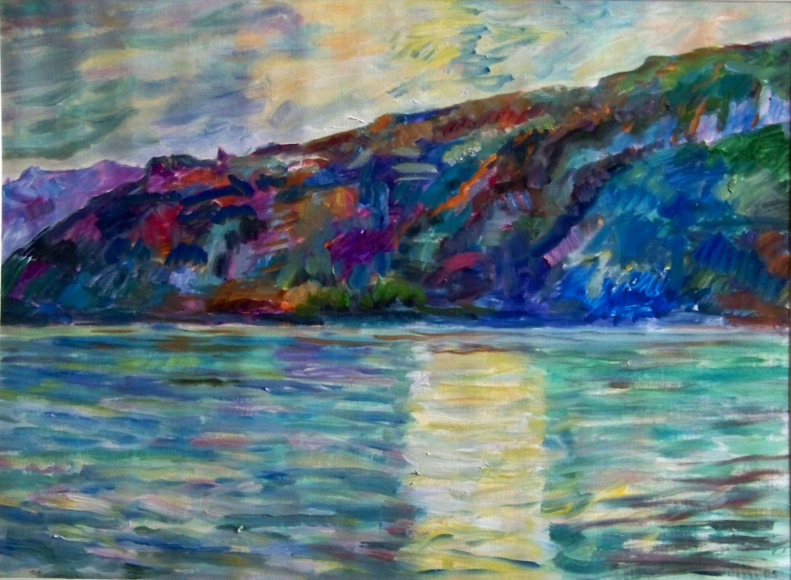 Gegenlicht am See, Var.1