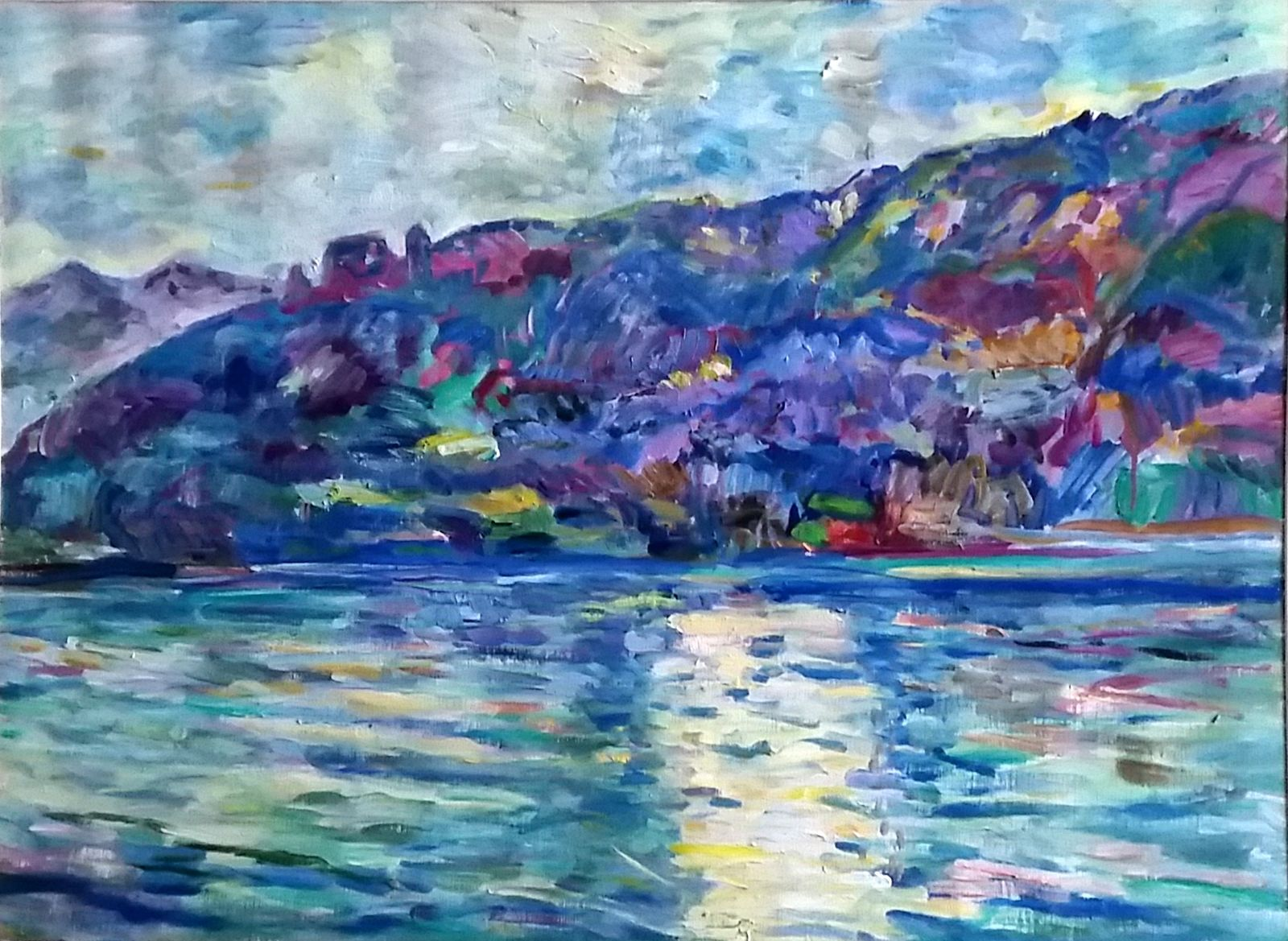 Gegenlicht am See, Var.2