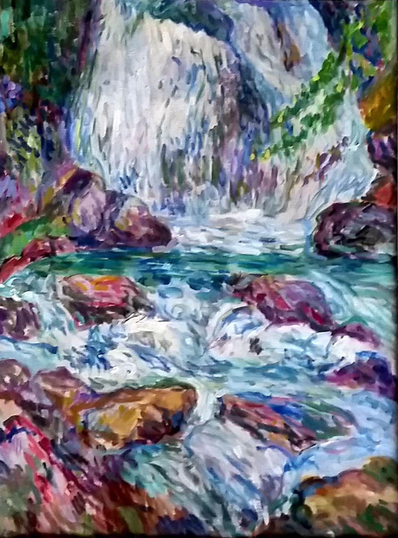 Wasserfall beim Mülibach