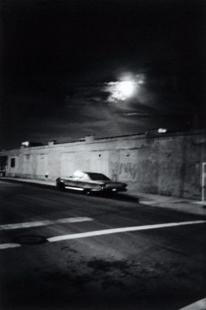 Car Under MoonLight, 2009, Inkjetprint auf Hahnemühlepapier, 105 x 151,5 cm, Edition von 5