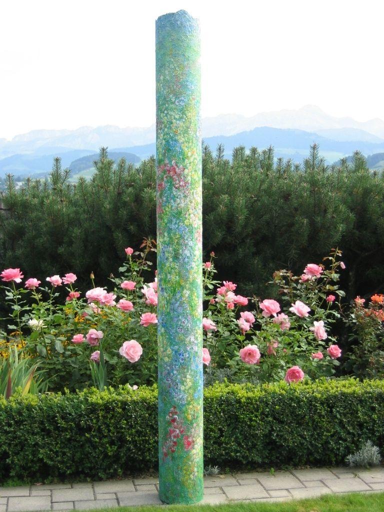 Blumensäule
