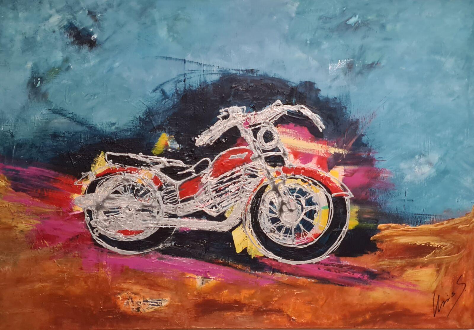 Ghost rider 100 x 70 cm