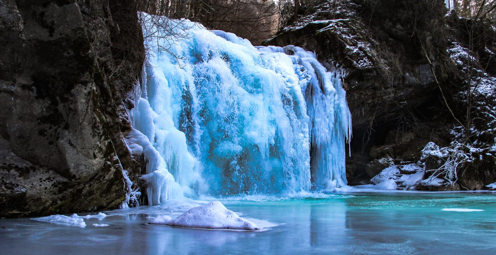 Der Steinenbachfall bei Ebnat-Kappel
