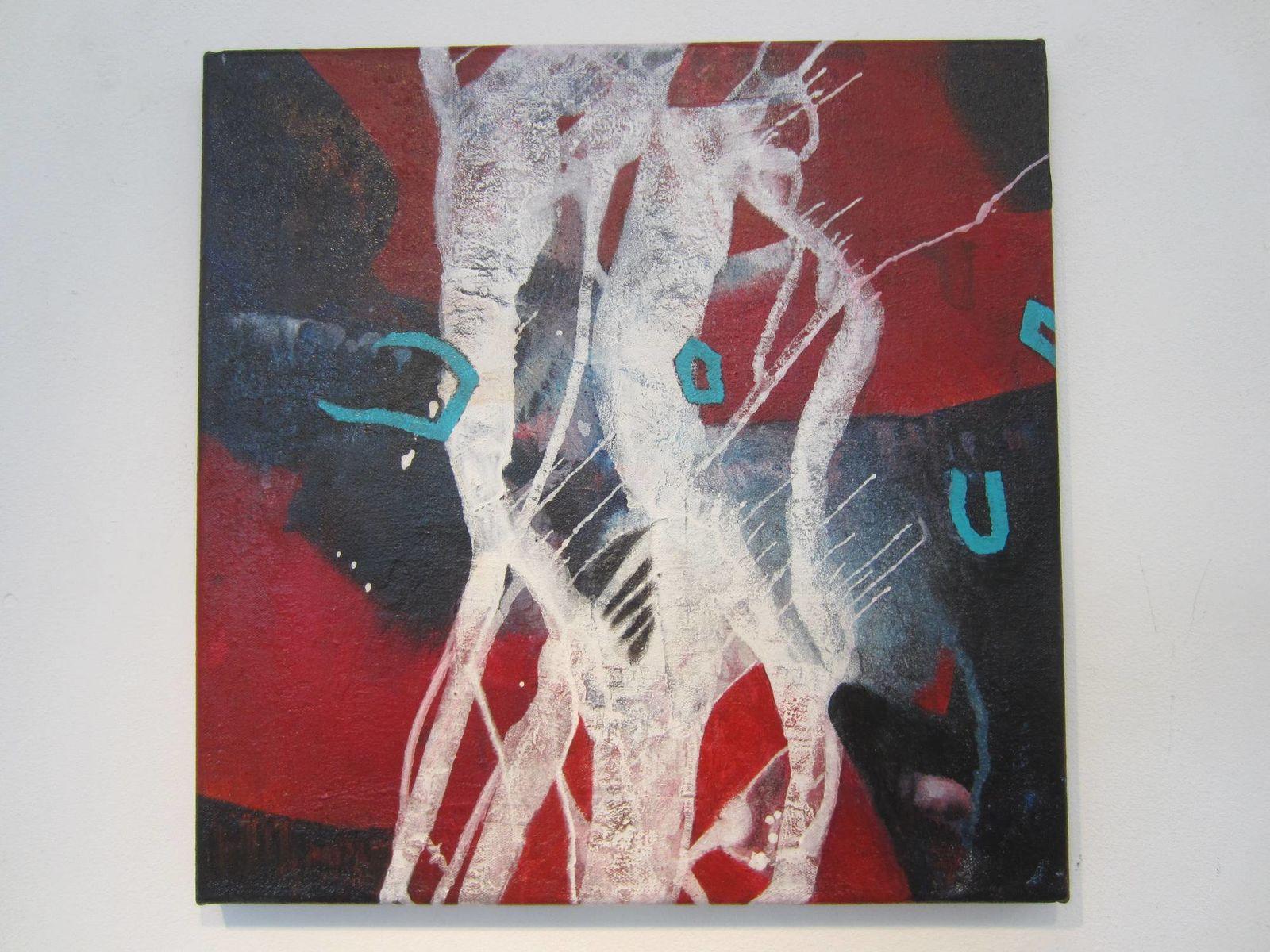 Kompositon Acryl, 50x50 cm, 2016
