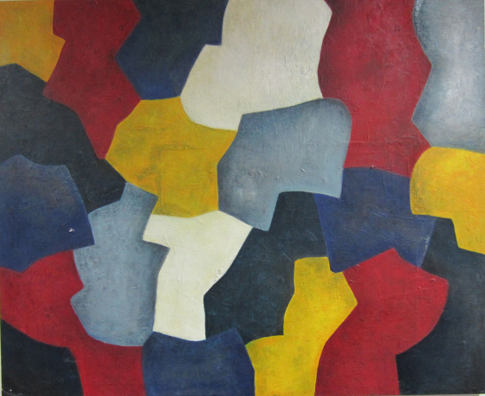 100x140 cm, Oel auf Holz, 2000
