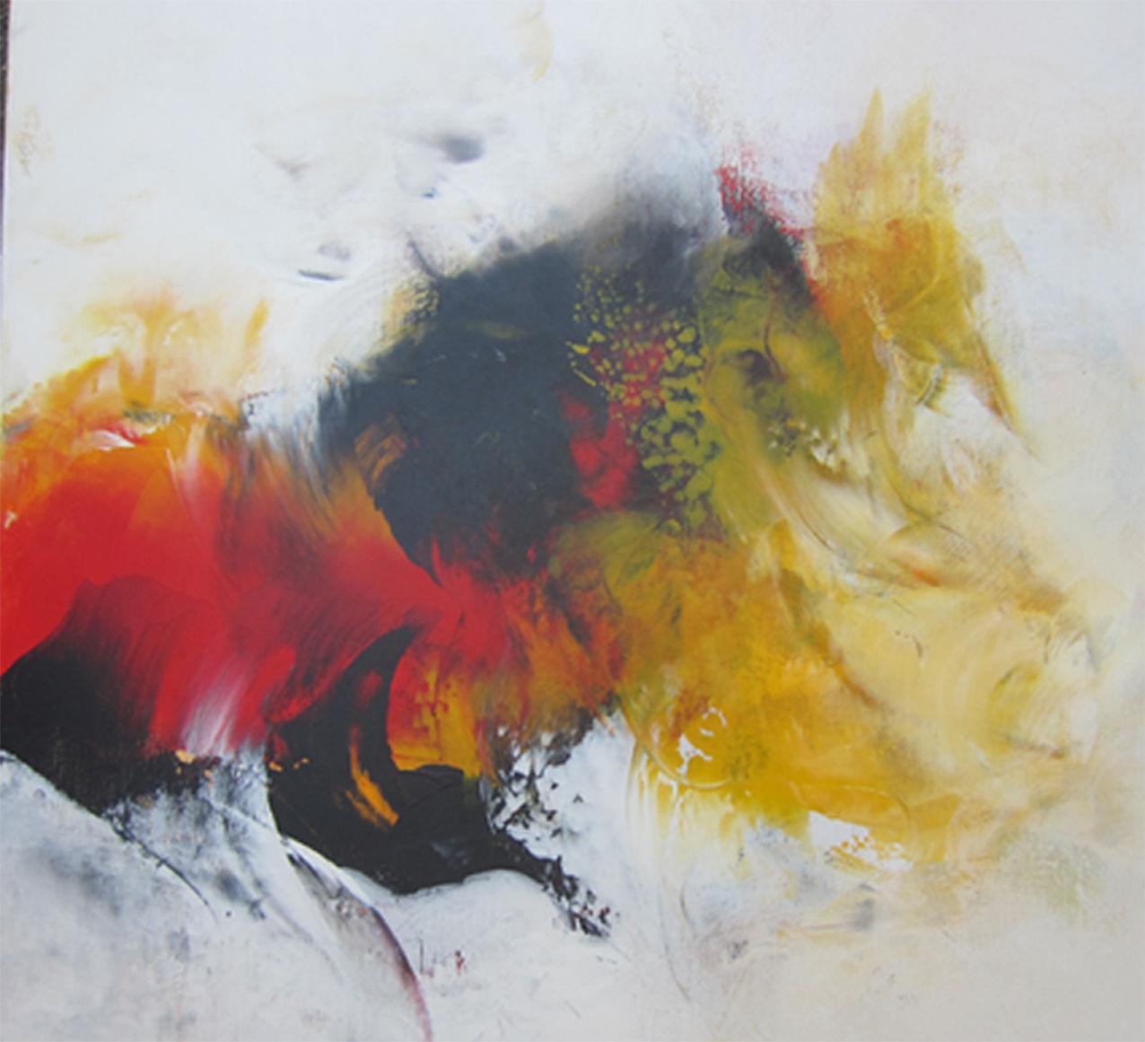 Komposition Acryl 60x60 cm, 2016