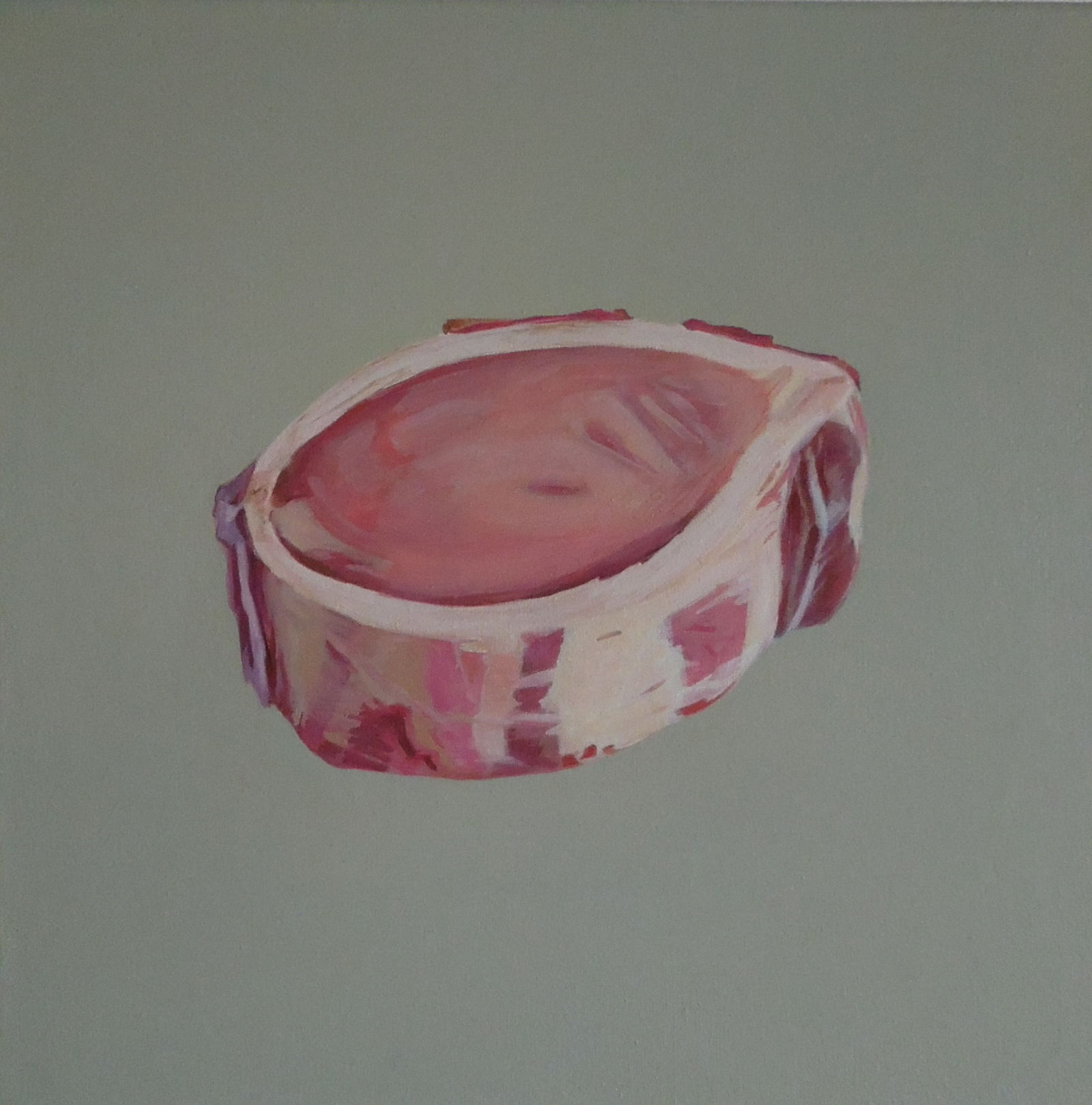 Markbein, 2013, Oel a/LW, 40x40 cm