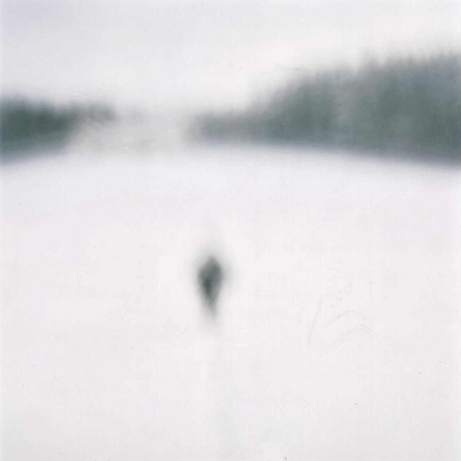 Person im Schnee