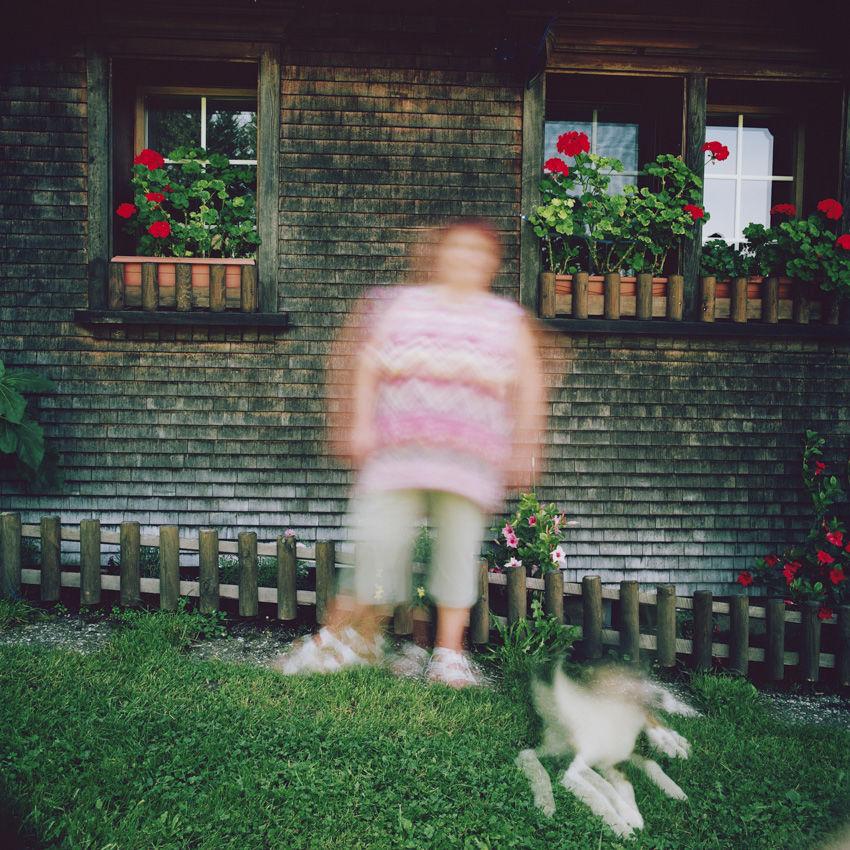 Eveline, Blumengarten