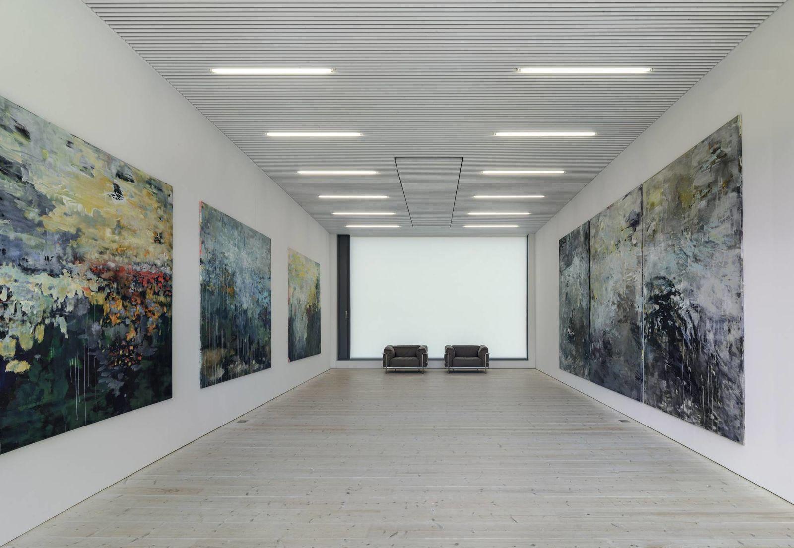 """""""Landscapes"""", Malerei von Heidi Schöni"""
