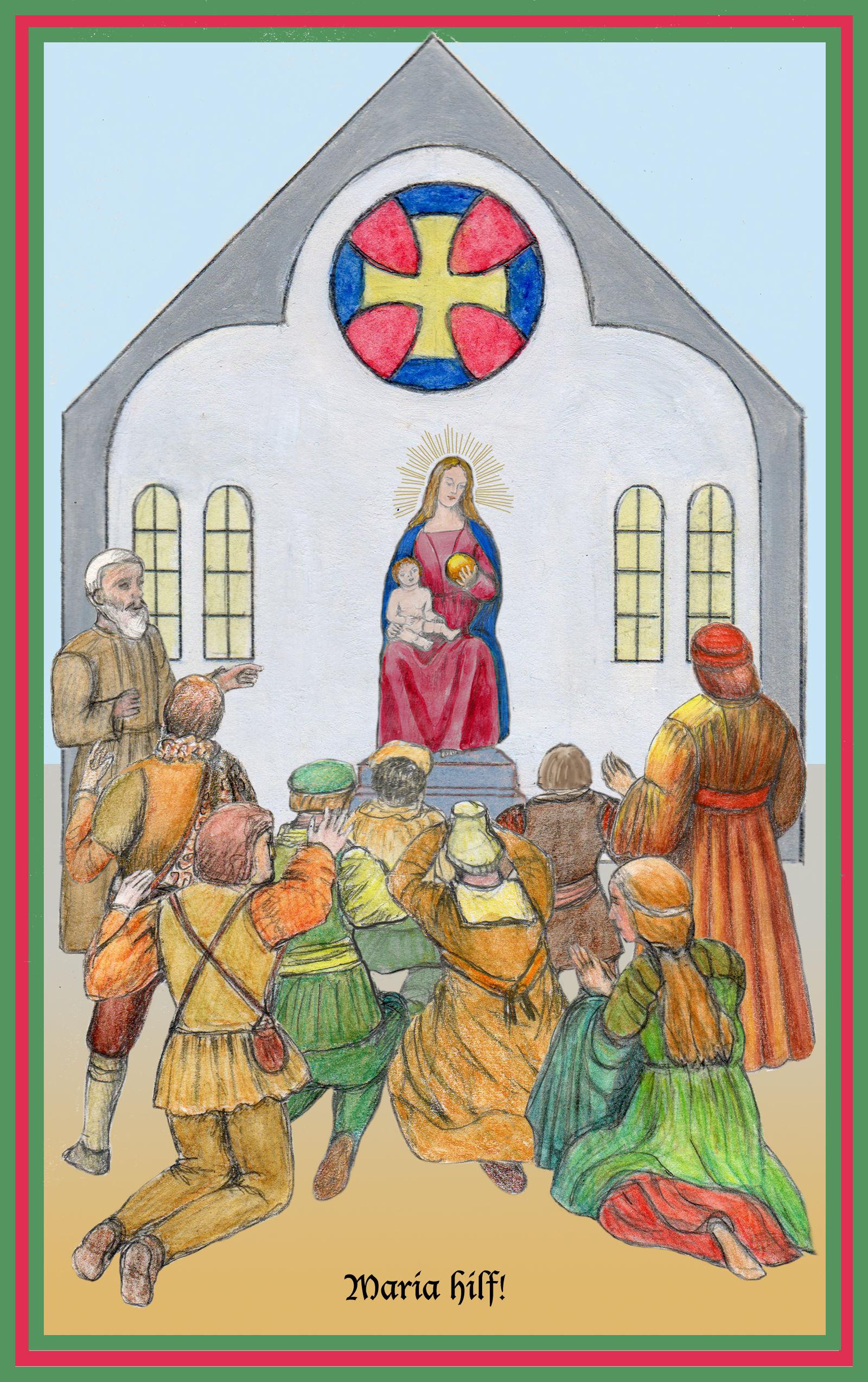 Anbetung der Maria